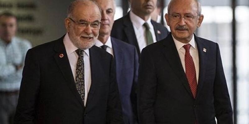 Kılıçdaroğlu ile Karamollaoğlu arasında kritik görüşme!