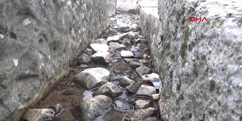 Apollon Tapınağı'nı su bastı