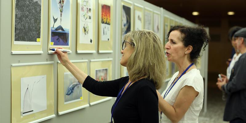 35. Aydın Doğan Uluslararası Karikatür Yarışması ödülleri sahiplerini buldu