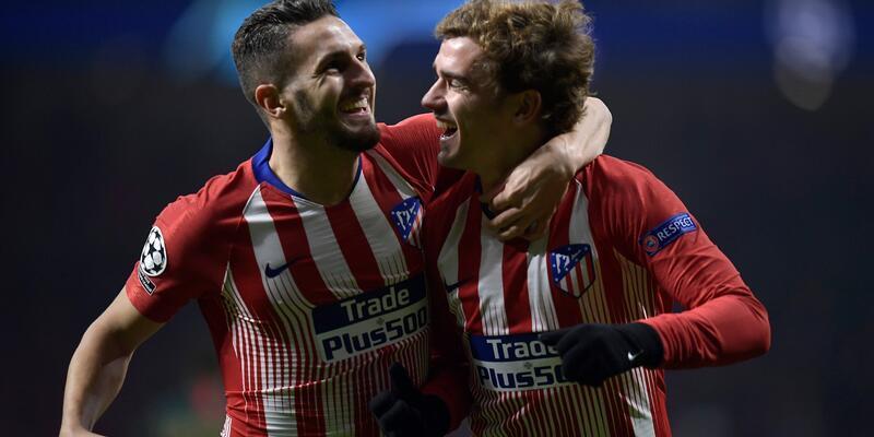 Atletico Madrid son 16'ya kaldı