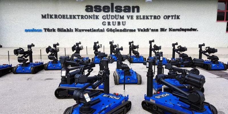 100 'Ertuğrul' robotu Emniyet'e teslim edildi