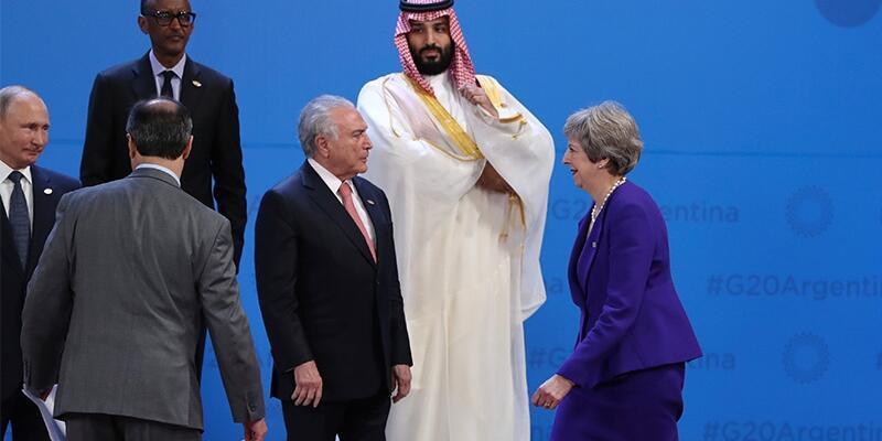 Theresa May'dan Prens Selman'a çağrı