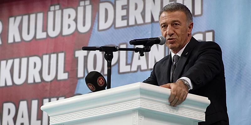 TFF'den Ahmet Ağaoğlu'na tebrik mesajı