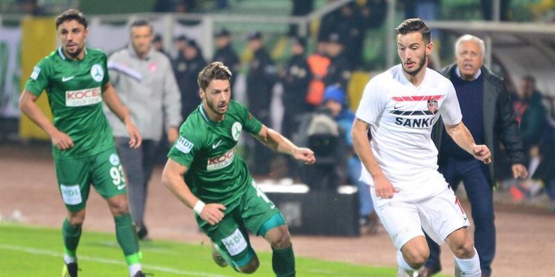 Giresunspor 1-5 Gazişehir Gaziantep