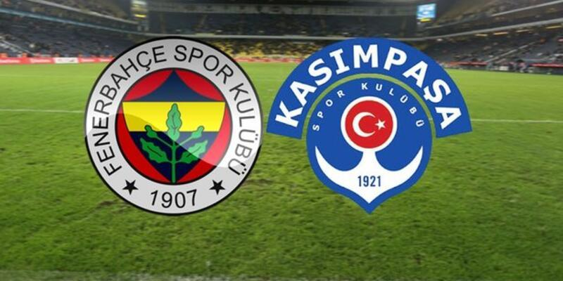 Fenerbahçe - Kasımpaşa maçı muhtemel 11'leri