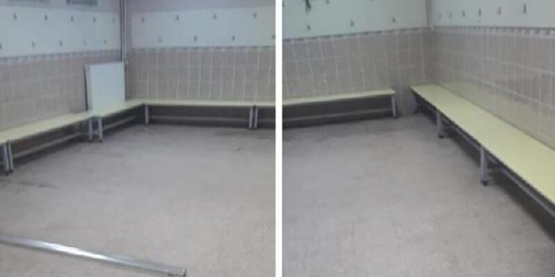 Karşıyakalı futbolcular soyunma odasını temizleyip sahadan öyle ayrıldı