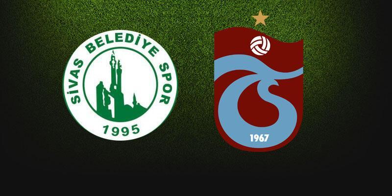 Sivas Belediyespor – Trabzonspor maçı saat kaçta, hangi kanalda?