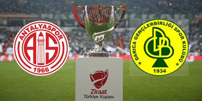 Antalyaspor - Darıca Gençlerbirliği maçı hangi kanalda, saat kaçta? Ziraat Türkiye Kupası