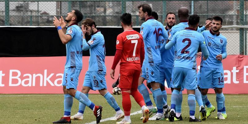 Sivas Belediyespor 2-2 Trabzonspor / Maç Özeti