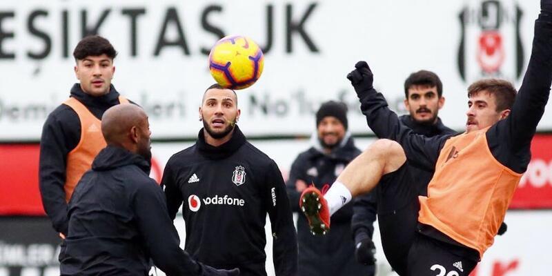 Beşiktaş'ta 6 futbolcu idmana çıkamadı