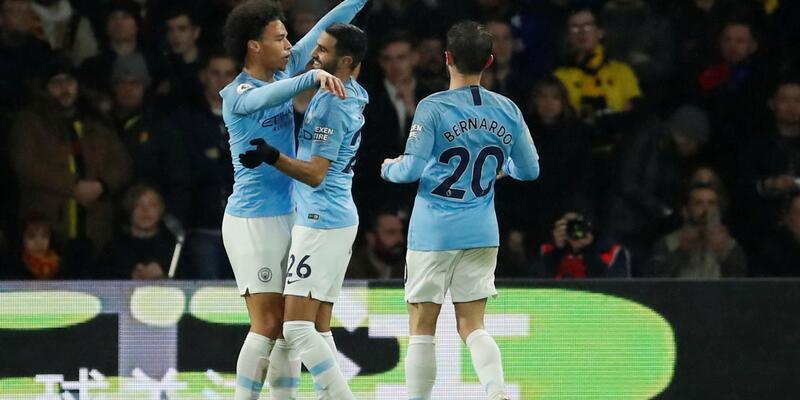 Manchester City 41 puana ulaştı