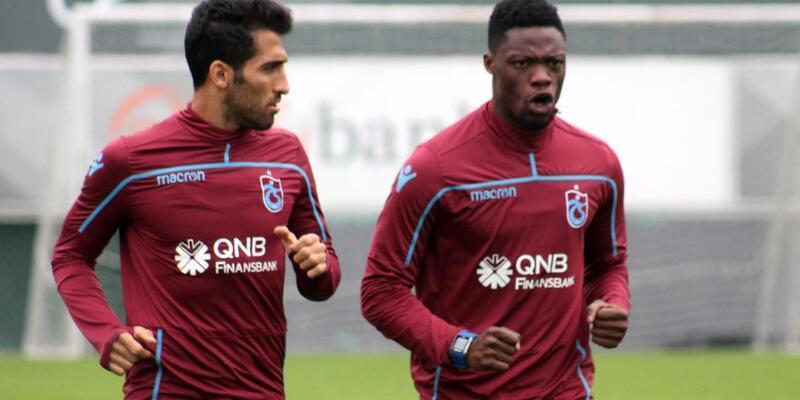 Trabzonspor antrenmanında 7 eksik