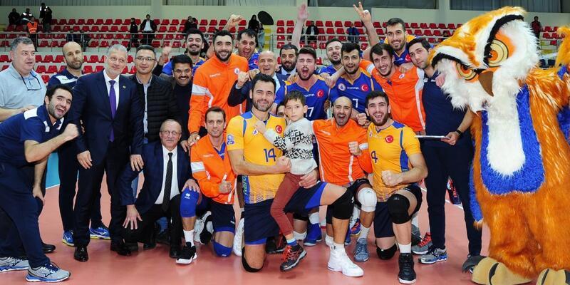 İstanbul Büyükşehir Belediyespor 8'li final turuna yükseldi
