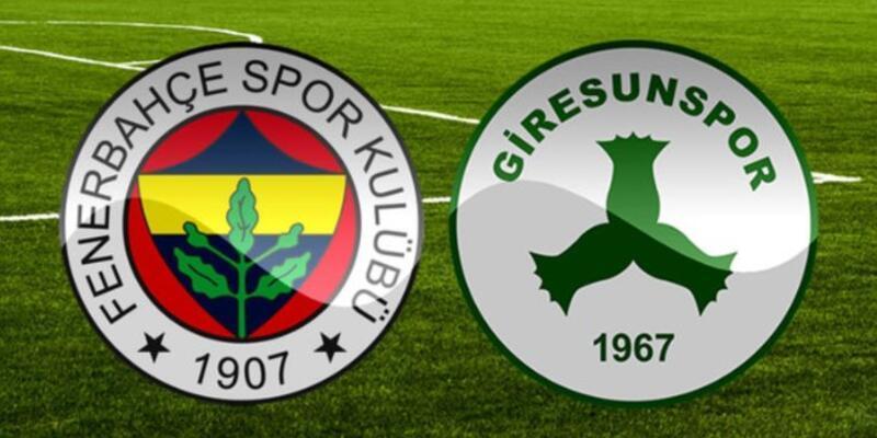 Fenerbahçe - Giresunspor maçı ne zaman, saat kaçta, hangi kanalda?