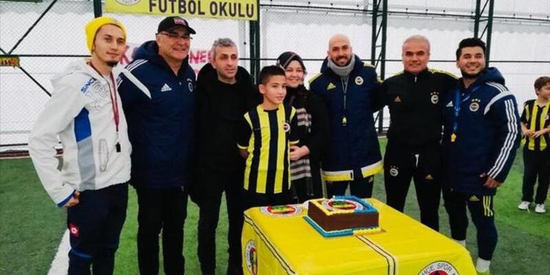 Fenerbahçe'nin altyapısına transfer oldu