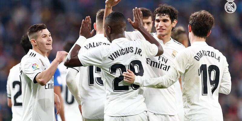 Real Madrid kupada gol yağdırdı: 6-1