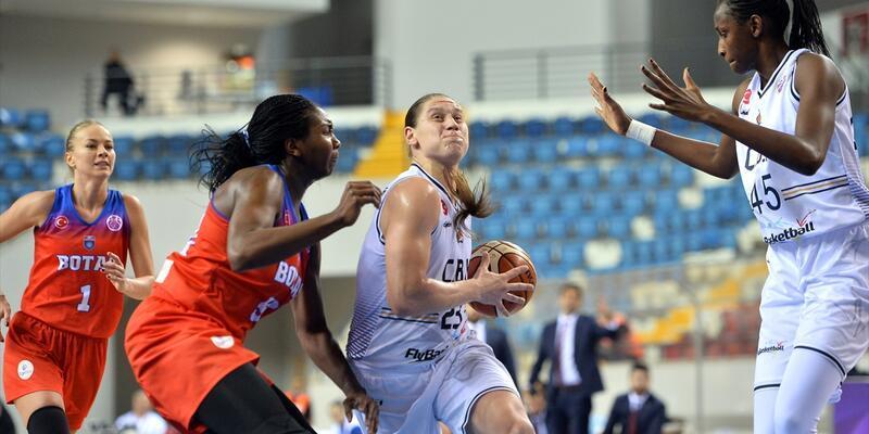 Avrupa'da Türk derbisinde Çukurova Basketbol 5'te 5 yaptı