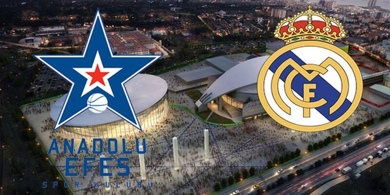 Anadolu Efes Real Madrid basketbol maçı hangi kanalda? Maç ne zaman başlıyor?