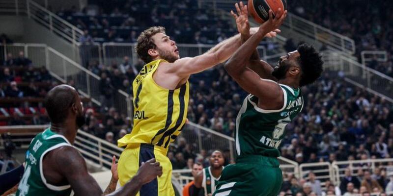 Fenerbahçe deplasmanda Panathinaikos'u yendi