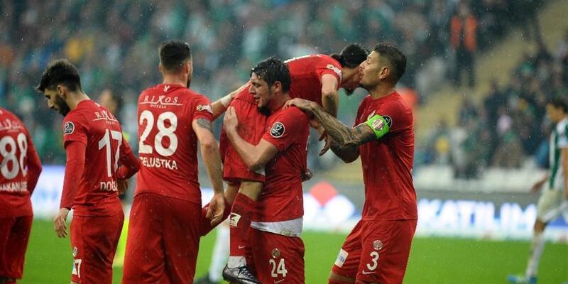Bursaspor 0-2 Antalyaspor / Maç Özeti