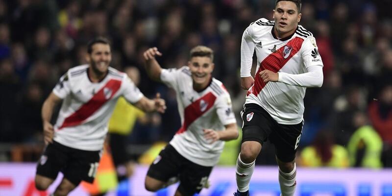 Copa Libertadores River Plate'in oldu