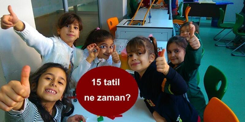 MEB'den 15 tatil ne zaman sorusuna cevap: Yarıyıl 'sömestr' tatili kaç gün?