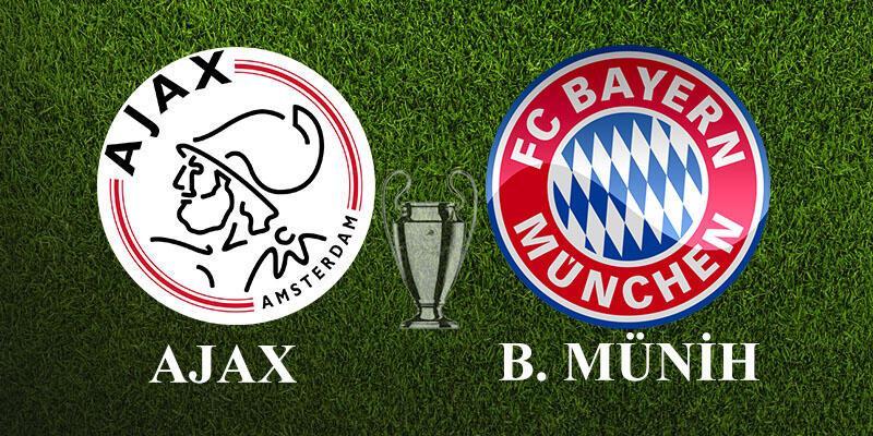 Ajax - Bayern Münih maçı ne zaman, saat kaçta, hangi kanalda?