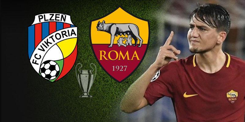 Viktoria Plzen, Roma Şampiyonlar Ligi maçı ne zaman, saat kaçta, hangi kanalda?