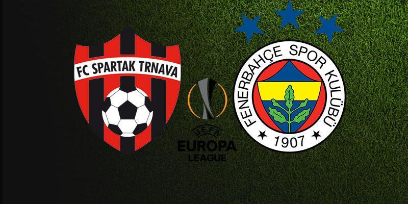 Avrupa Ligi: Spartak Trnava, Fenerbahçe maçı ne zaman, saat kaçta, hangi kanalda?