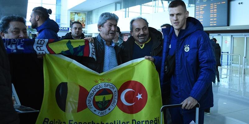 Fenerbahçe Bratislava'ya vardı