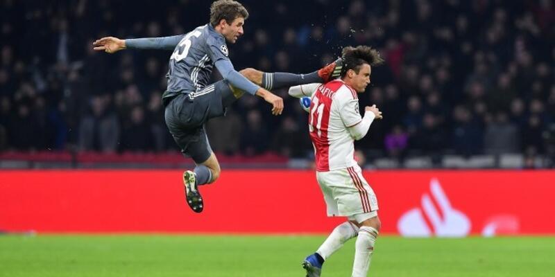 Thomas Müller, Ajax'lı futbolcudan özür diledi