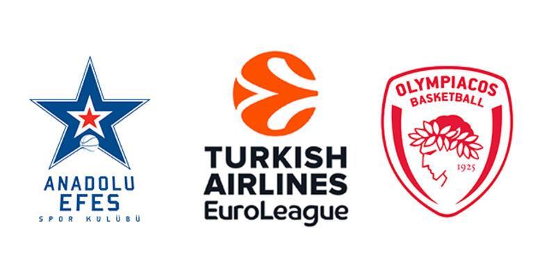Olympiakos - Anadolu Efes maçı hangi kanalda? Basketbol maçı ne zaman başlıyor?