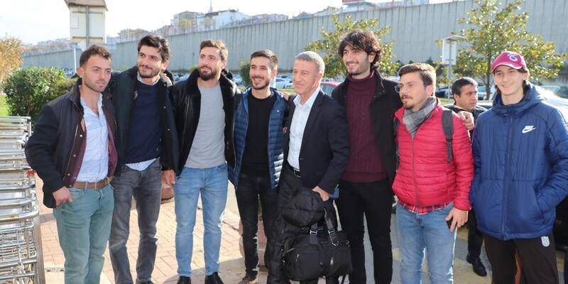 Trabzonspor'un Beşiktaş maçı kadrosu belli oldu