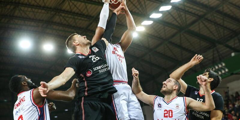 Beşiktaş 26 sayı farkla yenildi