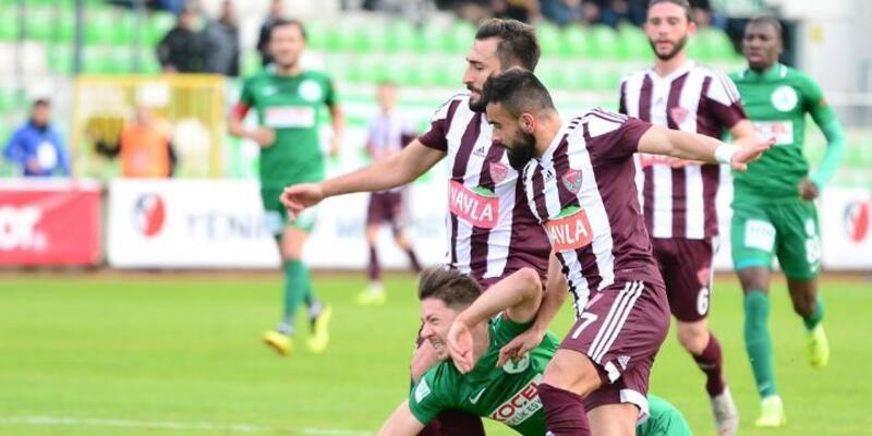 Giresunspor 0-3 Hatayspor / Maç özeti