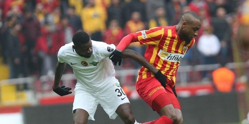 Kayserispor 1-0 Akhisarspor / Maç özeti