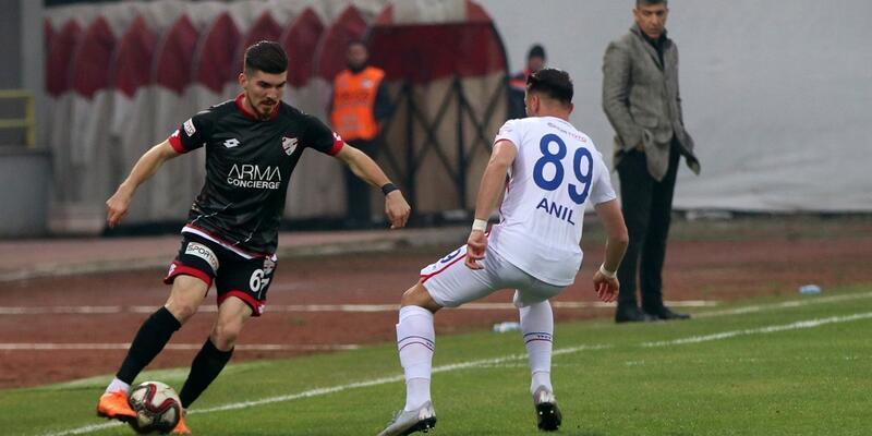 Boluspor 1-1 Altınordu maç sonucu