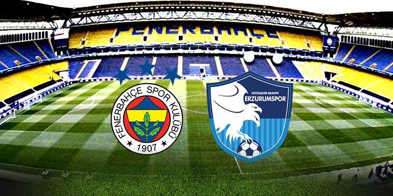 Fenerbahçe, Erzurumspor maçı ne zaman, saat kaçta?