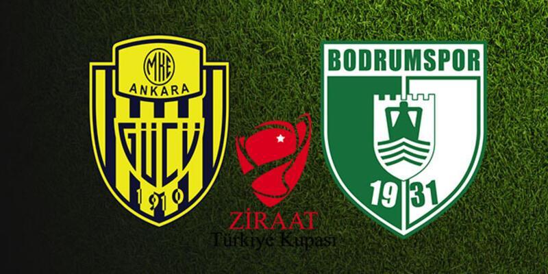 Türkiye Kupası: Ankaragücü Bodrumspor maçı ne zaman, saat kaçta, hangi kanalda?