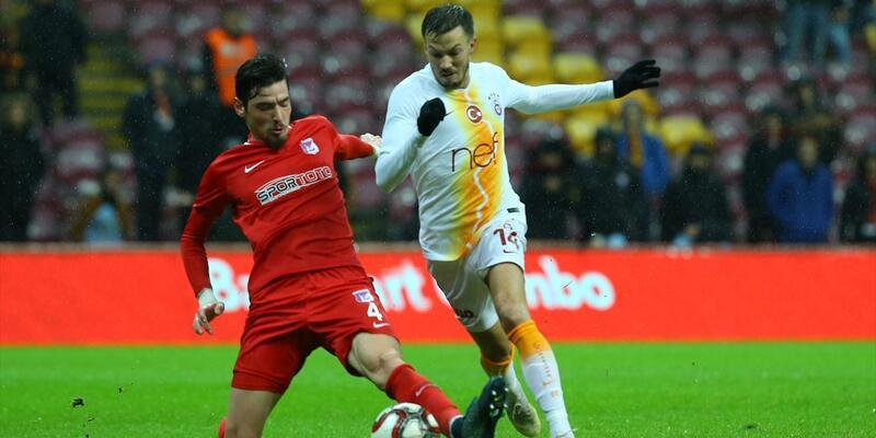 Galatasaray kupada son 16'ya yükseldi