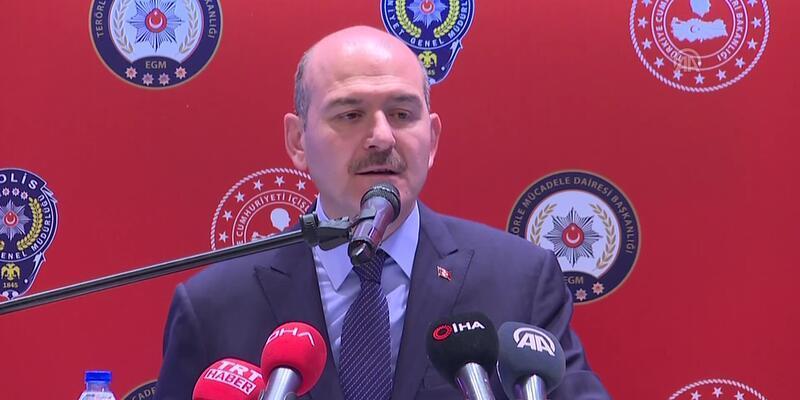Bakan Süleyman Soylu: Bu yıl 347 terör eylemi engellendi