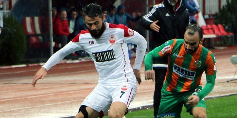 Kahramanmaraşspor, Alanyaspor'dan rövanşı aldı