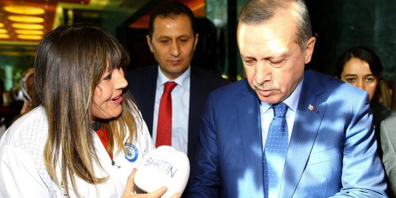 Şennur Demir Cumhurbaşkanı Erdoğan'a verdiği sözü tuttu