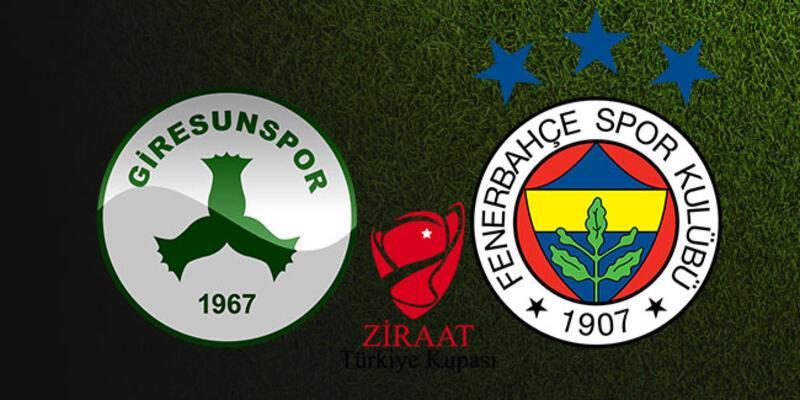 A2 canlı izle: Giresunspor, Fenerbahçe kupa maçı saat kaçta, hangi kanalda?
