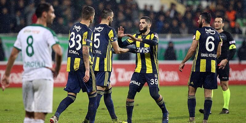 Giresunspor 2-5 Fenerbahçe / Maç Özeti