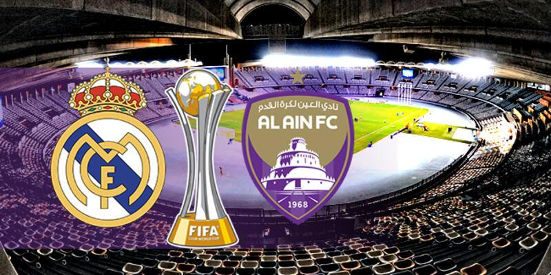 Real Madrid, Al Ain final maçı hangi kanalda, saat kaçta?
