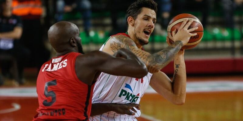 Pınar Karşıyaka 82-81 Gaziantep Basketbol maç sonucu