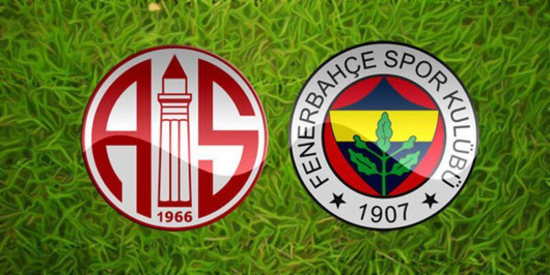 Antalyaspor - Fenerbahçe maçı muhtemel 11'leri