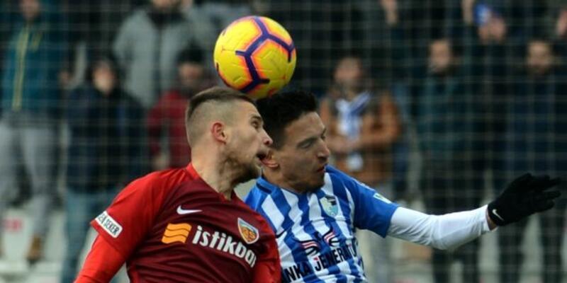 Büyükşehir Belediye Erzurumspor 1-1 Kayserispor / Maç özeti