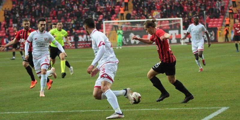 Eskişehirspor 1-1 Boluspor maç sonucu